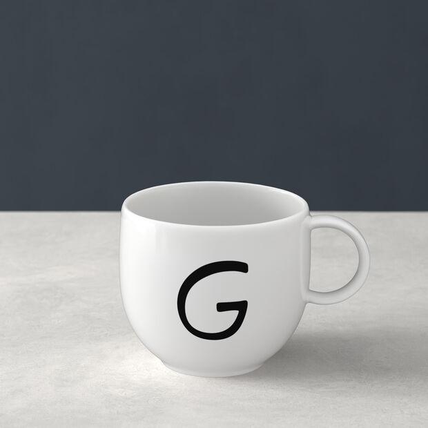 Letters Mug G 13x10x8cm, , large