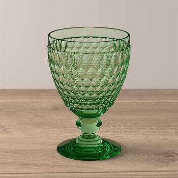Boston Coloured Water glass Green