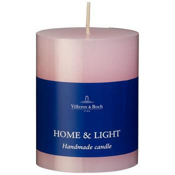 Essentials Candles Rose Pillar 7x9 7x9cm