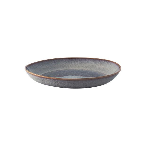 Lave Beige flat bowl, beige, 28 x 27 x 4.3 cm, , large
