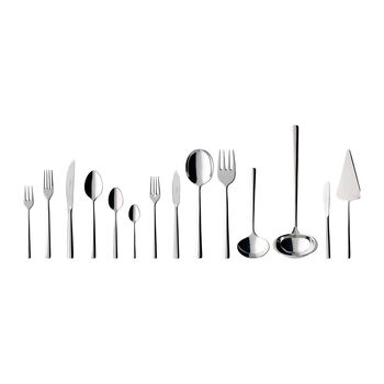 Piemont Lunch table cutlery, 113 pieces, for 12 people