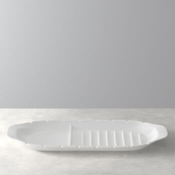 BBQ Passion serving plate XL with skewer holders