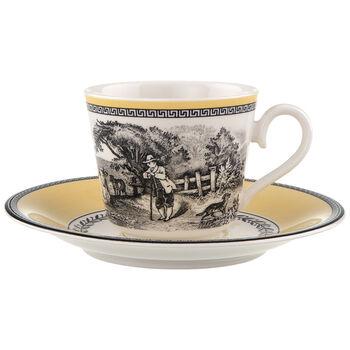 Audun Ferme Coffee/tea cup & saucer 2pcs