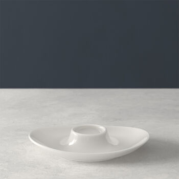 For Me egg cup, white, 14.8 x 11.4 cm