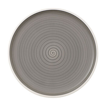 Manufacture gris pizza plate