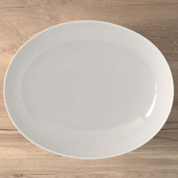 New Cottage Basic oval serving bowl 32 cm, , large