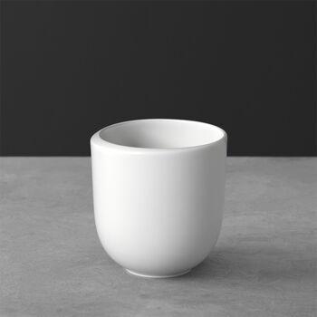 NewMoon coffee mug, without handle, 390 ml, white
