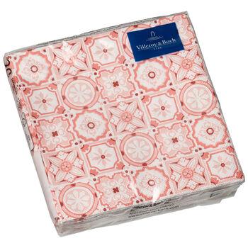 Paper Napkins Rose Caro, 20 pieces, 25x25cm