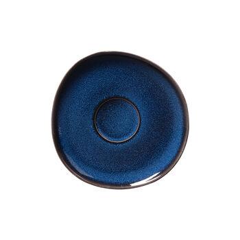 Lave bleu coffee cup saucer, 15.5 cm