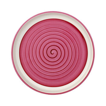 Clever Cooking Pink round serving plate 30 cm