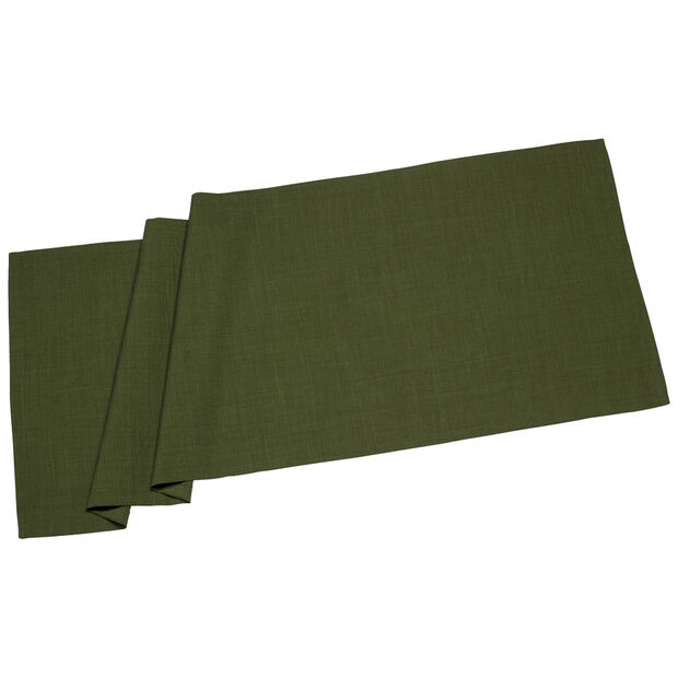 Textil Uni TREND Runner d.green 50x140cm, , large