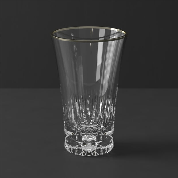 Grand Royal White Gold Tall glass 145mm, , large