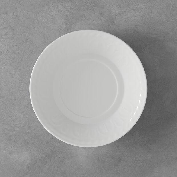 Cellini Saucer breakfast/soup cup 18cm, , large