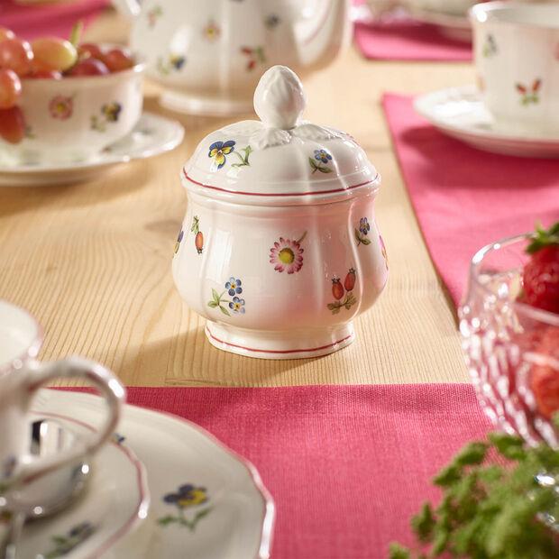 Petite Fleur sugar bowl, , large