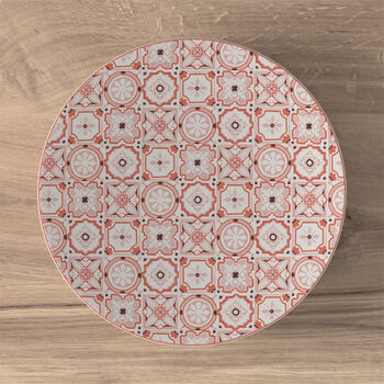 Modern Dining breakfast plate, rosé caro