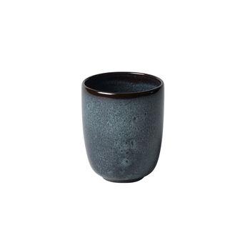 Lave Gris handleless mug, 9 x 9 x 10.5 cm