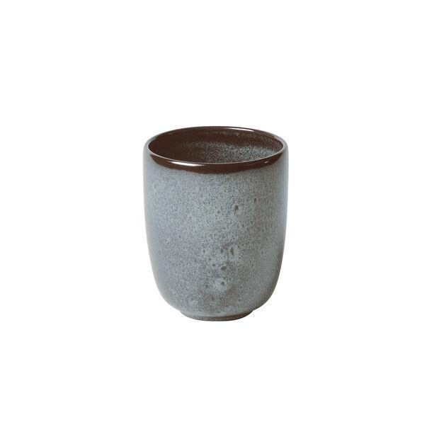 Lave Glacé handleless mug, turquoise, 9 x 9 x 10.5 cm, 400 ml, , large