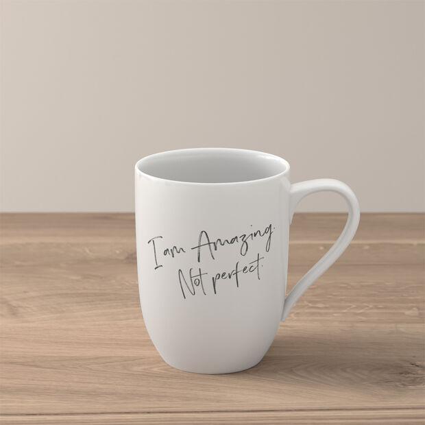 "Statement mug ""I´m amazing. Not perfect"", , large"
