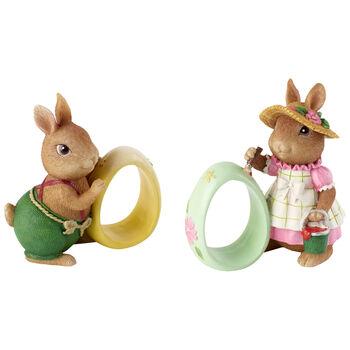 Spring Fantasy Accessories Napkin ring Anna Paul S2 8,3x5x8,9cm