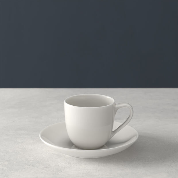 For Me mocha/espresso cup with saucer 2-piece set, , large