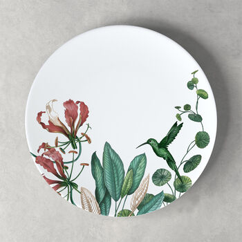 Avarua dinner plate, 27 cm, white/multicoloured