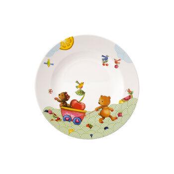 Hungry as a Bear Children flat plate 21,5x21,5x1,5cm