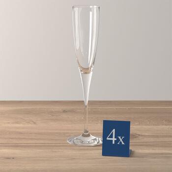 Maxima champagne flute, 4 pieces