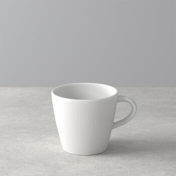 Manufacture Rock Blanc coffee cup, white, 10.5 x 8 x 7.5 cm