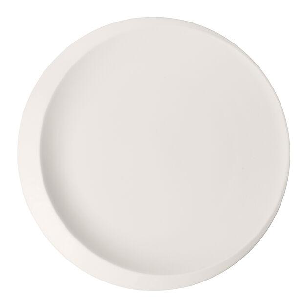 NewMoon presentation plate, 37 cm, white, , large