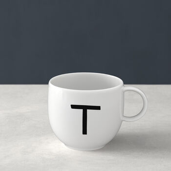 Letters Mug T 13x10x8cm