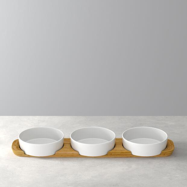 Pizza Passion Topping platter set 4pcs. 50x13,5x5,5cm, , large