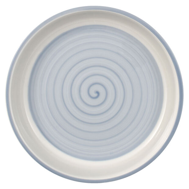 Clever Cooking Blue round serving plate 17 cm, , large