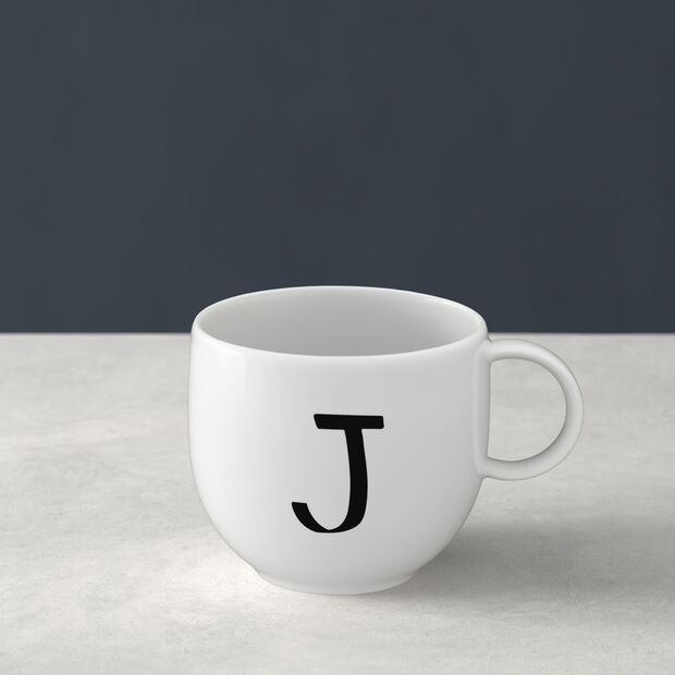 Letters Mug J 13x10x8cm, , large