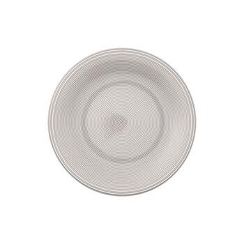 Color Loop Stone breakfast plate 21 x 21 x 2cm