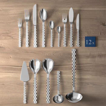 Boston Lunch cutlery set 113 pieces