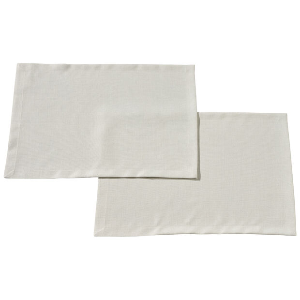Textil Uni TREND Placemat Stone S2 35x50cm, , large