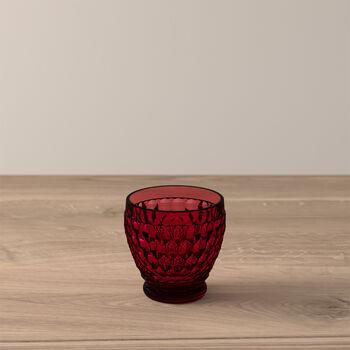 Boston Coloured Shot glass Red