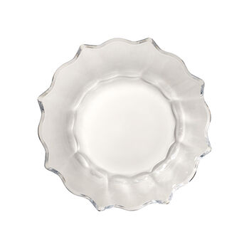 Christmas Glass Accessories bowl, clear, 25 cm, 850 ml