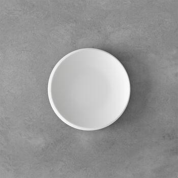NewMoon bread plate, 16 cm, white