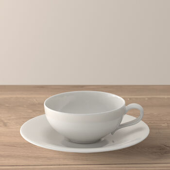 New Cottage Basic tea cup and saucer