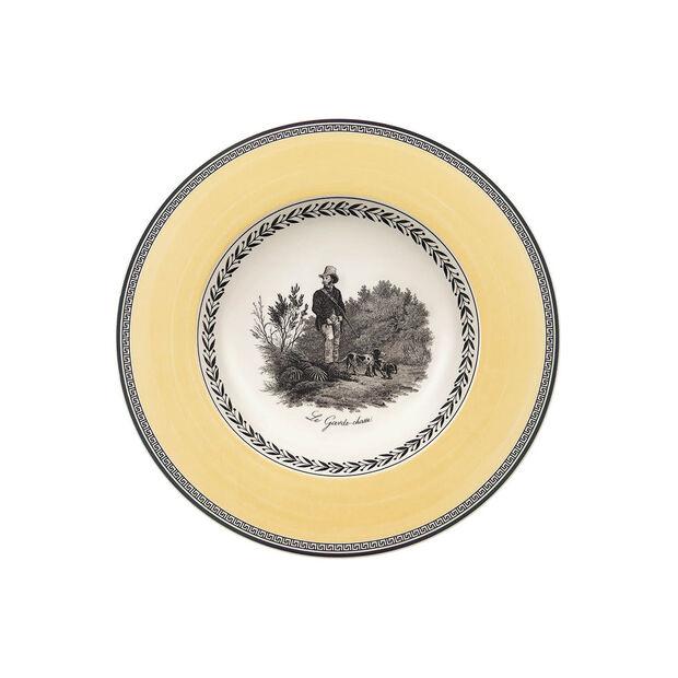 Audun Chasse soup plate, , large