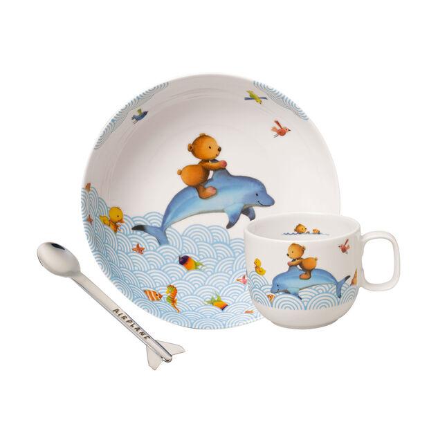 Happy as a Bear Children's crockery set, 3 pcs., , large