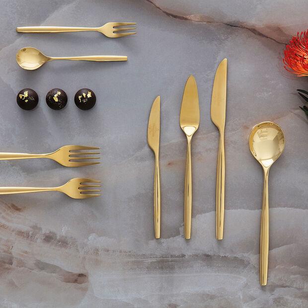 MetroChic d'Or Cutlery set 30pcs 42x27x5cm, , large