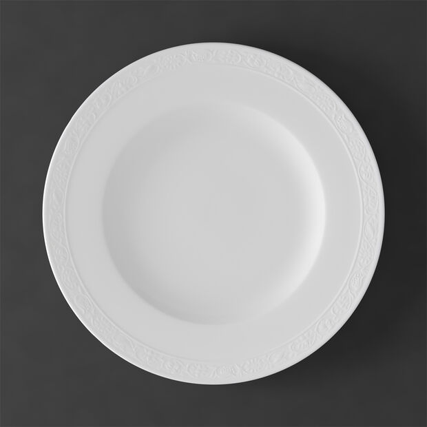 White Pearl dinner plate, , large