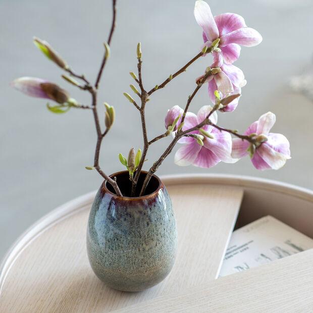 Lave Home egg-shaped vase, 14.5 x 14.5 x 17.5 cm, Beige, , large