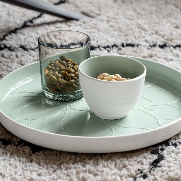 like.by Villeroy & Boch it's my match water glass set mineral, green, 9 x 10 cm, 2 pieces, , large