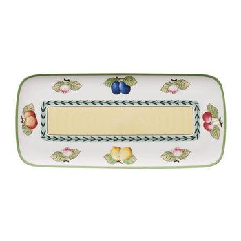 Charm & Breakfast French Garden Sandwich plate 35x16cm