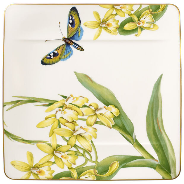 Amazonia breakfast plate 23 x 23 cm, , large