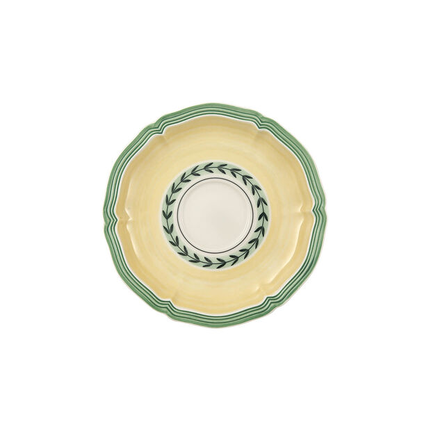French Garden Fleurence tea cup saucer, , large