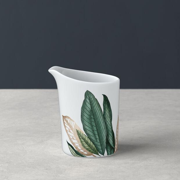 Avarua milk jug, 220 ml, white/multicoloured, , large